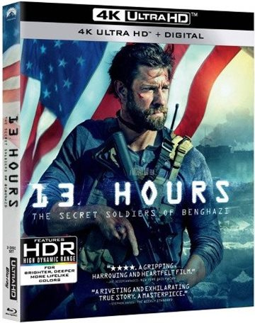 13 Hours - The Secret Soldiers Of Benghazi - 4K Ultra HD Blu-Ray