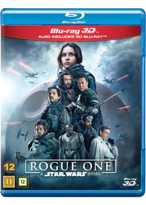 Star Wars - Rouge One - A Star Wars Story Blu-Ray - 2017 Udgave