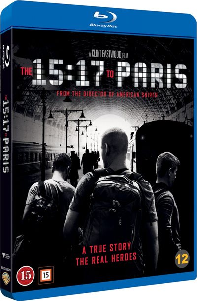 15:17 To Paris Blu-Ray