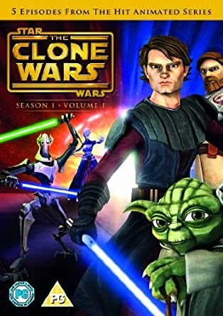 Star Wars Clone Wars - Season 1 Vol. 1