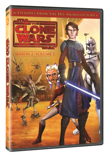 Star Wars Clone Wars - Season 2 Vol. 2