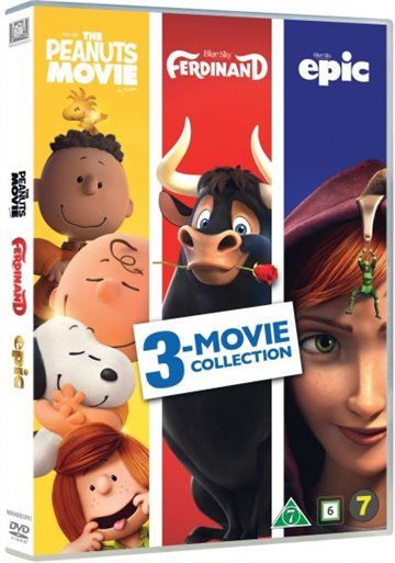 Ferdinand, The Peanuts Movie, Epic (3 Movie Collection)