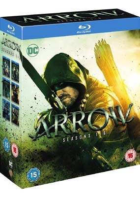 Arrow - Season 1-6 Blu-Ray
