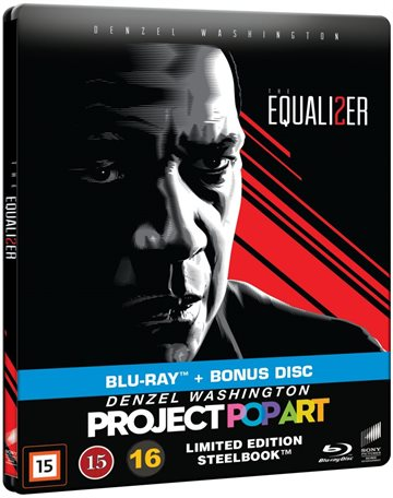 THE EQUALIZER 2 - STEELBOOK