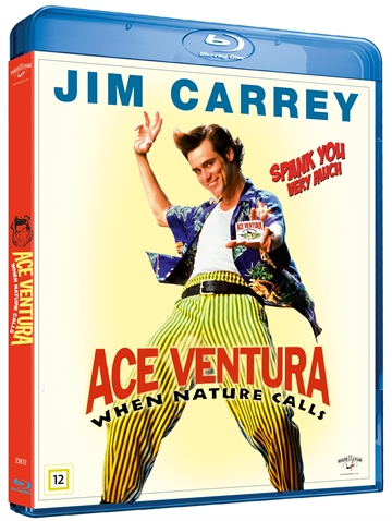 Ace Ventura - When Nature Call Blu-Ray