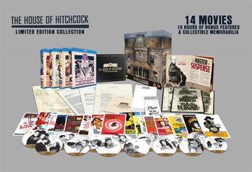 Alfred Hitchcock - House Collection Blu-Ray