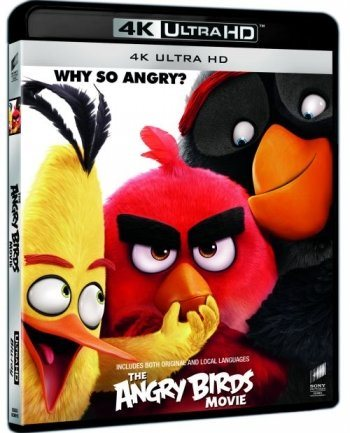 The Angry Birds Movie 4K Ultra HD Blu-Ray