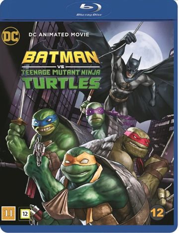 Batman Vs Teenage Mutant Ninja Turtles Blu-Ray