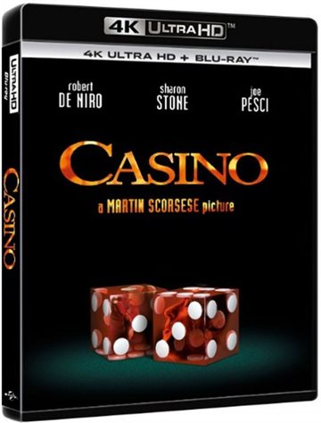 Casino - 4K Ultra HD Blu-Ray