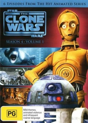 Star Wars Clone Wars - Season 4 Vol. 1