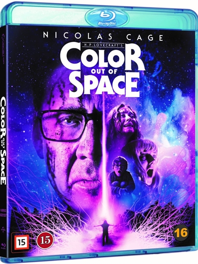Color Out Of Space Blu-Ray