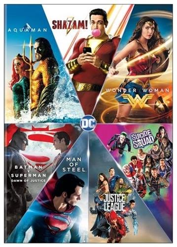 DC Comics - 7 Movie Collection
