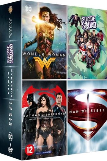 DC Comics - 4 Movie Collection