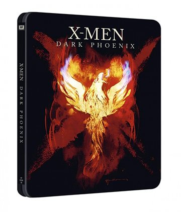 X-Men - Dark Phoenix Steelbook Blu-Ray