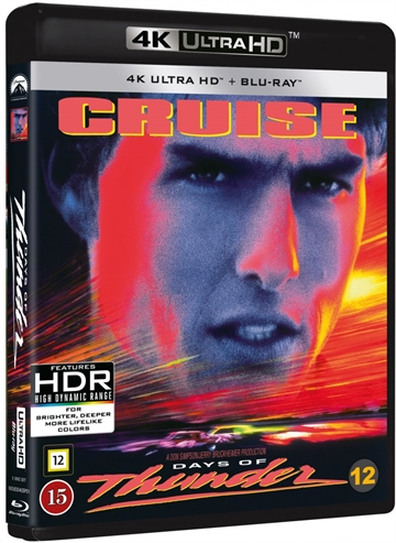 Days Of Thunder - 4K Ultra HD Blu-Ray