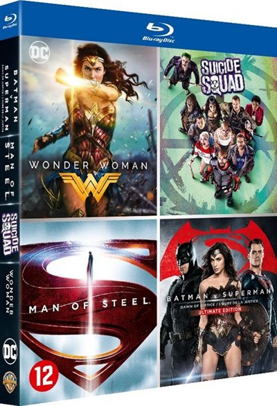 DC Comics - 4 Movie Collection Blu-Ray