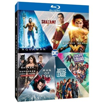 DC Comics - 7 Movie Collection Blu-Ray