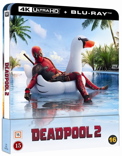 Deadpool 2 - Limited Steelbook 4K Ultra HD + Blu-Ray