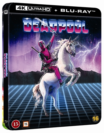 Deadpool - Limited Steelbook 4K Ultra HD + Blu-Ray