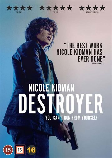 The Destroyer  Blu-Ray