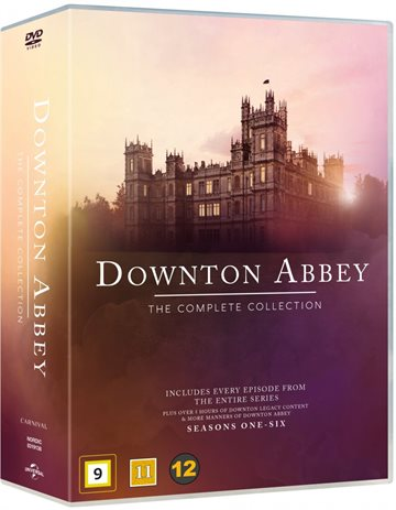 Downton Abbey - Den Komplette Serie + Christmas Special