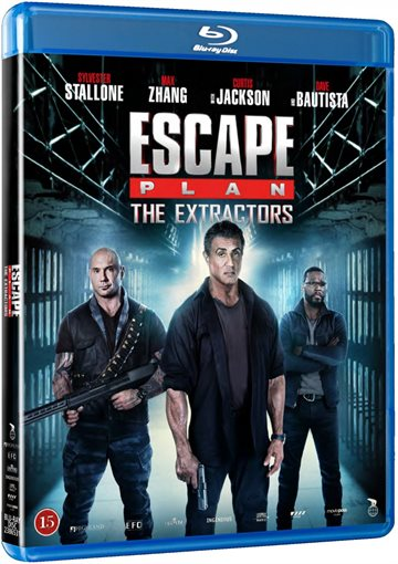 Escape Plan 3 - The Extrators Blu-Ray