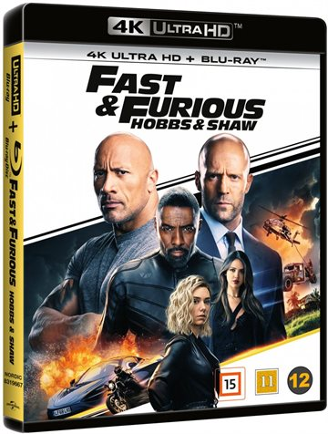 Fast And Furious 9 - Hobbs & Shaw - 4K Ultra HD Blu-Ray
