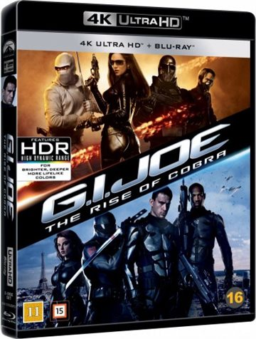 G.I. Joe 1 - The Rise Of Cobra - 4K Ultra HD Blu-Ray