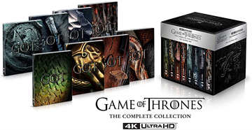 Game of Thrones - The Complete Collection - Limited Steelbook 4K Ultra HD