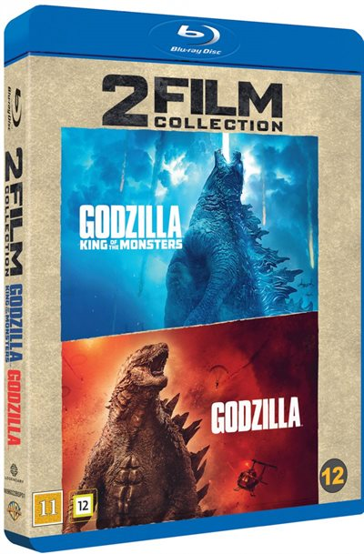 Godzilla & Godzilla King Of The Monsters Blu-Ray