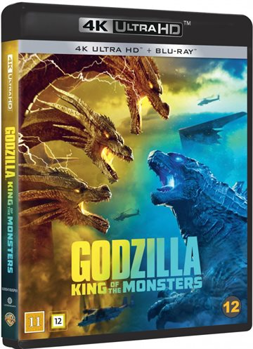 Godzilla King Of The Monsters - 4K Ultra HD Blu-Ray