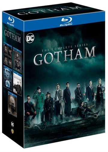 Gotham - Season 1-5 Blu-Ray Complete Box