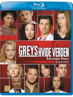 Greys Hvide Verden - Season 4 Blu Ray