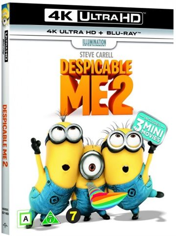 Despicable 2/Grusomme Mig 2 4K Ultra Hd Blu-Ray