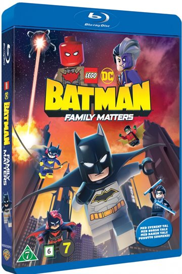 Lego Dc Batman - Family Matters Blu-Ray