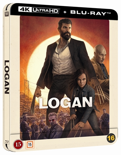 Logan - Limited Steelbook 4K Ultra HD + Blu-Ray