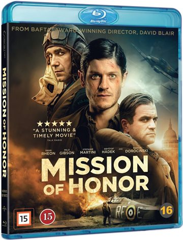 Mission Of Honor Blu-Ray