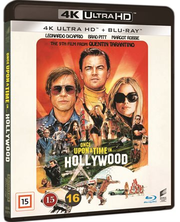 Once Upon A Time In Hollywood - 4K Ultra HD Blu-Ray