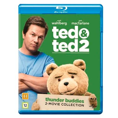 TED 1 & 2 BOX (Blu-Ray)