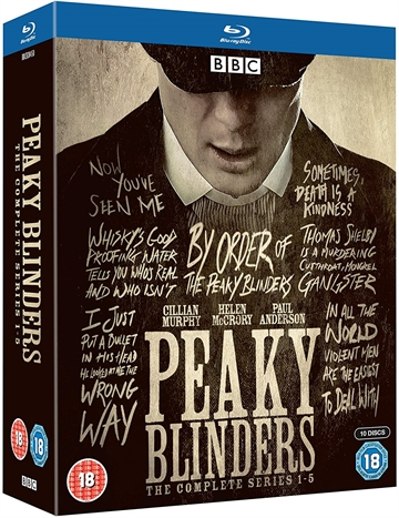 Peaky Blinders - Season 1-5 Blu-Ray