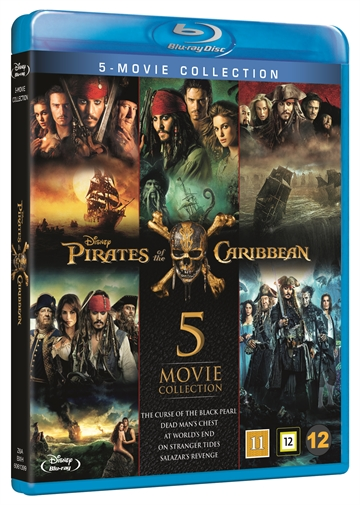 Pirates Of The Caribbean 1-5 - Box Collection Blu-Ray