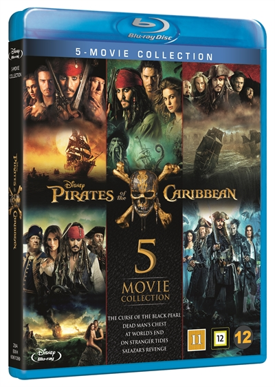 Pirates Of The Caribbean - Box Collection Blu-Ray