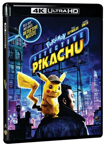 Pokemon Detective Pikachu - 4K Ultra HD - Blu-Ray