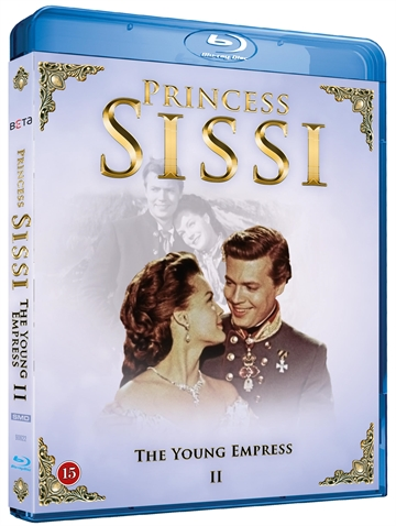 Prinsesse Sissi 2 - The Young Empress Blu-Ray
