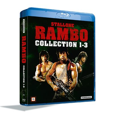 Rambo 1-3 Collection Blu-Ray