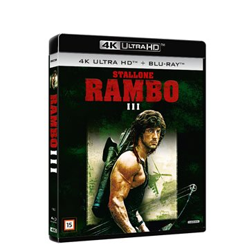 Rambo 3 4K Ultra HD Blu-Ray