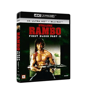 Rambo 2 - First Blood Part 2 4K Ultra HD Blu-Ray