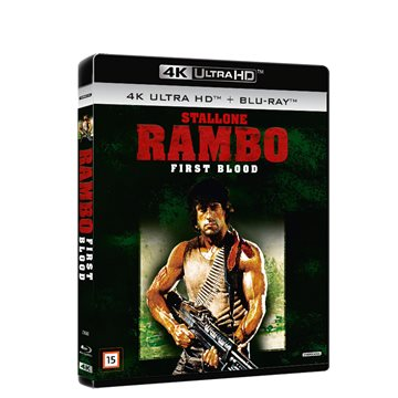 Rambo 1 - First Blood 4K Ultra HD Blu-Ray