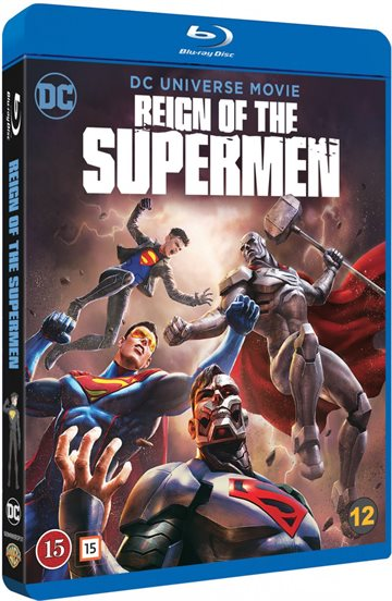 DC - Reign Of The Supermen Blu-Ray