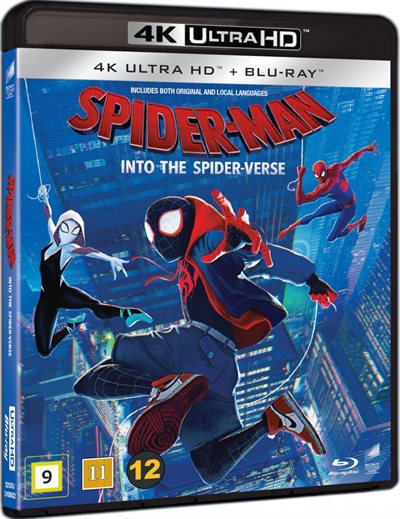 Spider-Man Into The Spider-Verse - 4K Ultra HD Blu-Ray